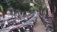 Duy trì bãi giữ xe tại Công viên 23-9 để phục vụ người dân