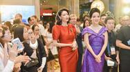 Hoa hậu Giáng My, Hà Kiều Anh chào đón nhà mốt nổi tiếng của Ý đến Việt Nam