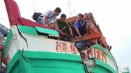 Phút cảnh báo: Báo động ngư dân bị hủy hoại tài sản khi khai thác hải sản trên biển