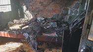 Cháy nhà nghỉ, nghi do khách thuê phòng tự đốt