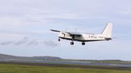 Chuyến bay thương mại ngắn nhất thế giới, bay trong... 80 giây