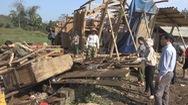 Hàng trăm hộ dân bị ảnh hưởng bởi mưa lốc