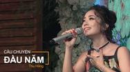Thu Hằng hát live Câu chuyện đầu năm trong mini show Một ngày mới