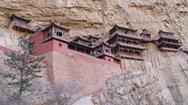 Kỳ bí ngôi chùa 1.500 tuổi trên vách đá dựng đứng