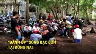"""""""Đánh úp"""" sòng bạc lớn tại Đồng Nai"""