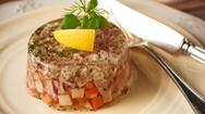 Độc đáo món rau câu giò heo của người Ba Lan