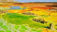 Vẻ đẹp kỳ lạ đầy nguy hiểm của Dallol - điểm du lịch nóng nhất thế giới