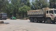 Xe ben hoành hành trong khu đô thị An Phú - An Khánh