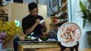 Độc đáo nghệ thuật vẽ tranh cá 3D trên gỗ dừa