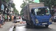 Va chạm xe tải, người phụ nữ chết tại chỗ