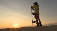 Vận động viên trượt tuyết chuyên nghiệp đầu tiên của Việt Nam