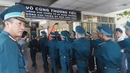 Nghẹn ngào tiễn biệt hai phi công hy sinh trong chuyến bay huấn luyện tại Khánh Hòa