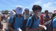 Hơn 200 thí sinh đảo Phú Quý vào đất liền dự thi THPT quốc gia 2019