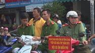 Cà Mau tổ chức Đội xe ôm tình nguyện giúp đỡ thí sinh