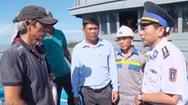 Tàu Cảnh sát biển cứu nạn thành công 6 ngư dân từ Hoàng Sa vào đất liền an toàn