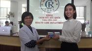 Hoa hậu Đỗ Mỹ Linh đăng ký hiến tạng