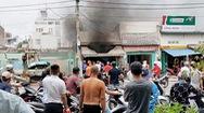 Nghi xì gas gây cháy nổ quán cơm, 2 người bị thương