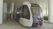 Tàu 'không đường ray' phục vụ World Cup 2022