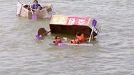 Cuộc đua thuyền giấy ở Hàn Quốc