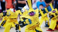 Robot hình người khoe tài tại Olympic robot quốc tế