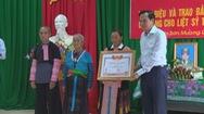 Truy điệu và trao bằng Tổ quốc ghi công cho liệt sỹ Thao Văn Súa
