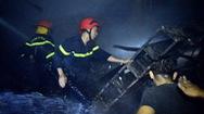 Cháy lớn ở chợ Bình Long, thiệt hại nặng nề