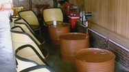 """Độc đáo quán cà phê  """"thùng phuy""""  đầu tiên tại Nha Trang"""