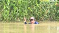 Săn ếch đồng mùa nước nổi