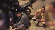 CSGT kịp thời ngăn chặn nhóm người định trộm gần 40 triệu đồng từ người đàn ông say xỉn