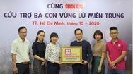 """Ví MoMo trao 2,5 tỉ đồng tiền quyên góp """"Cùng Báo Tuổi Trẻ cứu trợ bà con vùng lũ miền Trung"""""""