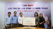 Tập đoàn Hưng Thịnh Trao 1 tỷ đồng cứu trợ đồng bào miền Trung
