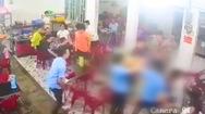 Video: Dùng kéo đâm chết người trong quán nhậu