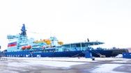 Video: Tàu phá băng hạt nhân lớn của Nga đi vào hoạt động