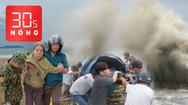 Bản tin 30s Nóng: Toàn cảnh miền Trung gồng mình chống bão dữ đang cuồn cuộn ập vào miền Trung
