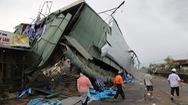 Video cập nhật: Hình ảnh tan hoang sau bão ở Quảng Ngãi