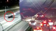 Video: Máy bay hạ cánh khẩn cấp xuống đường cao tốc, đâm vào ôtô