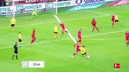 Video: Cú sút xa 'hình trái chuối' đẹp nhất Bundesliga vòng 21