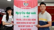 Video: Ca sĩ Trương Quỳnh Anh, siêu mẫu Hồ Đức Vĩnh hiến máu nhân đạo