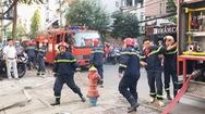 Cháy nhà dân nghi do chập điện
