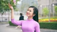 Tháng 2 gọi về mùa hoa ban đẹp nao lòng giữa trời Hà Nội