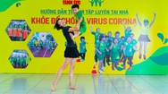 """Bài 30: 'Khỏe để chống virus Corona"""" với bài tập dành cho phụ huynh và các bé"""
