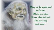 Theo dấu màu hoa sim tím chiều hoang biền biệt - Kỳ 2: Nàng thơ Lê Đỗ Thị Ninh trong bài Màu tím hoa sim