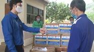 Video: Tặng đồ dùng y tế cho Đồn biên phòng trong phòng chống COVID-19