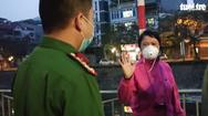 Video: Công an ra quân nhắc nhở không tập thể dục ngoài đường