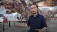 Xưởng chế tạo mô hình quái vật như phim Hollywood tại Sài Gòn