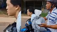 Video: Bắt đối tượng dùng dao khống chế cô gái cướp tài sản