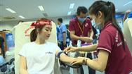 Video: Dàn hoa hậu, á hậu tham gia hiến máu nhân đạo