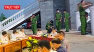 Trực tiếp: Họp báo vụ người đàn ông nhảy lầu tự tử trong sân TAND tỉnh Bình Phước