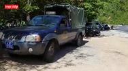 Trực tiếp: Cảnh sát đang vây bắt kẻ giết người vuợt ngục dưới chân đèo Hải Vân