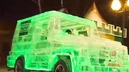 Video: Xe ôtô tự chế được làm từ băng tuyệt đẹp